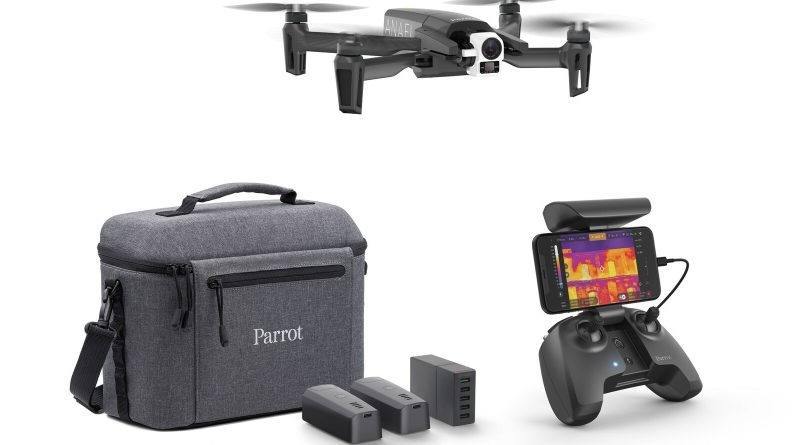 Parrot Unveils Thermal Imaging Drone: ANAFI Thermal