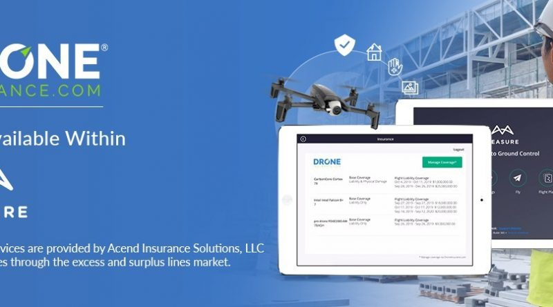 REIN's DroneInsurance.com and Measure Collaborate to Provide Commercial Drone Operators with Integrated Access to Drone Insurance