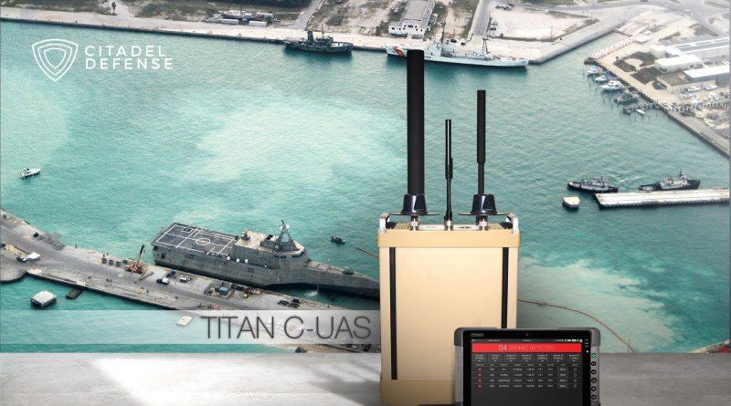 Citadel Defense Secures $9.2M Order for Titan C-UAS Systems