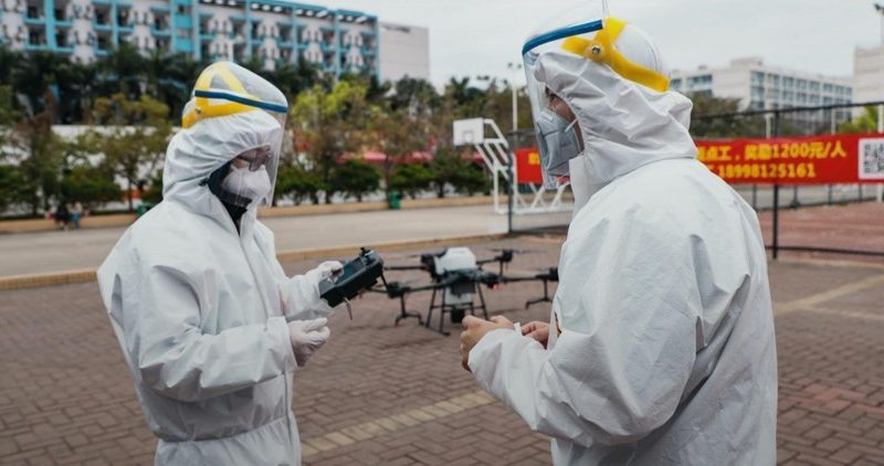 Elite Consulting Explains How DJI Drones is Joining the Fight Against Coronavirus