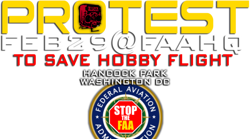 Help Save Our Hobby! Rally To Save Hobby Flight Feb 28th And 29th!
