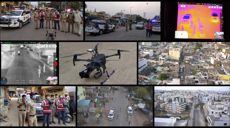 Cyient Provides Drone-Based Surveillance Technology to support Cyberabad Police in implementing COVID-19 Lockdown
