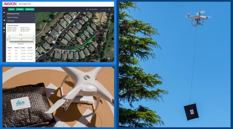 Dive Delivery Begins Backyard Drone Deliveries of Essential Goods in San Mateo & Contra Costa Counties (CA)