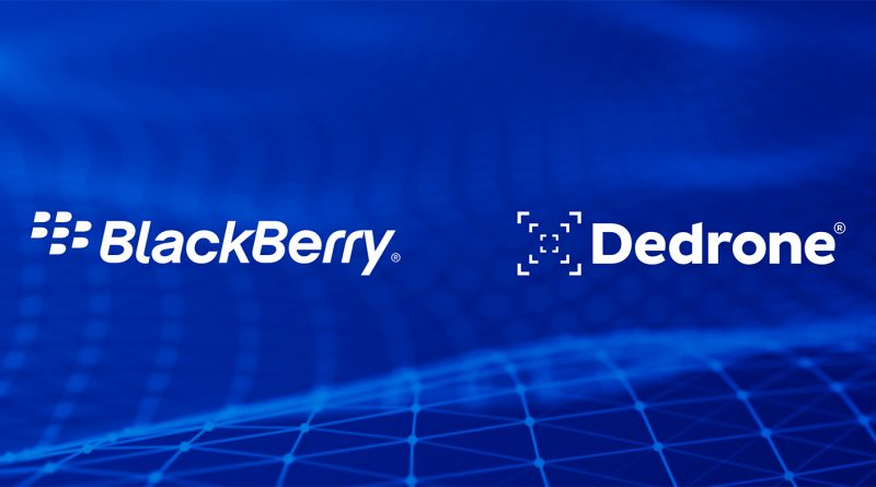 Dedrone and BlackBerry Partner to Counter Unauthorized Drone Activity