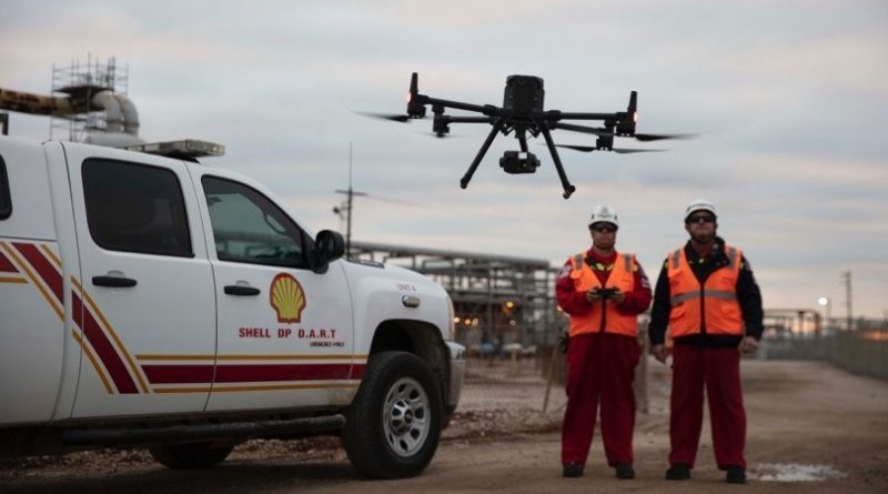 DJI M300 Drones for Oil and Gas Refinery Inspection