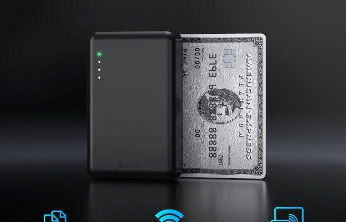 skyBOX: Credit-Card-Sized, Wireless SSD Storage – by HyperAccessory