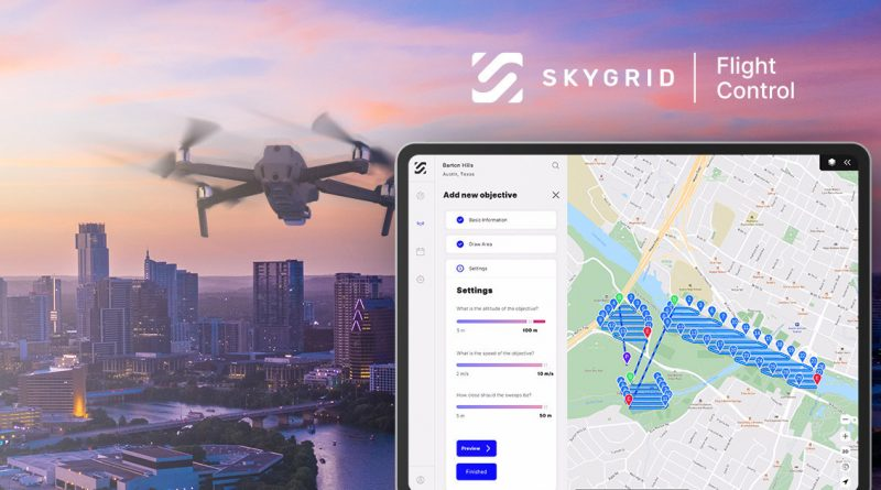 SkyGrid Launches All-in-One Drone App to Automate Every Phase of Flight