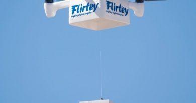 Flirtey drone delivery